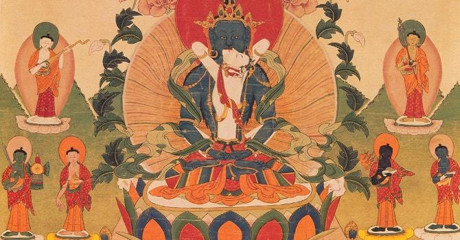 viziune în tibetană